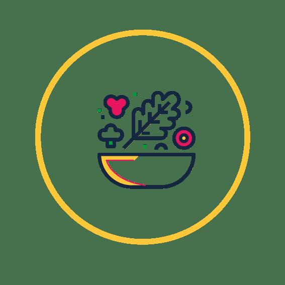 icono nutrición