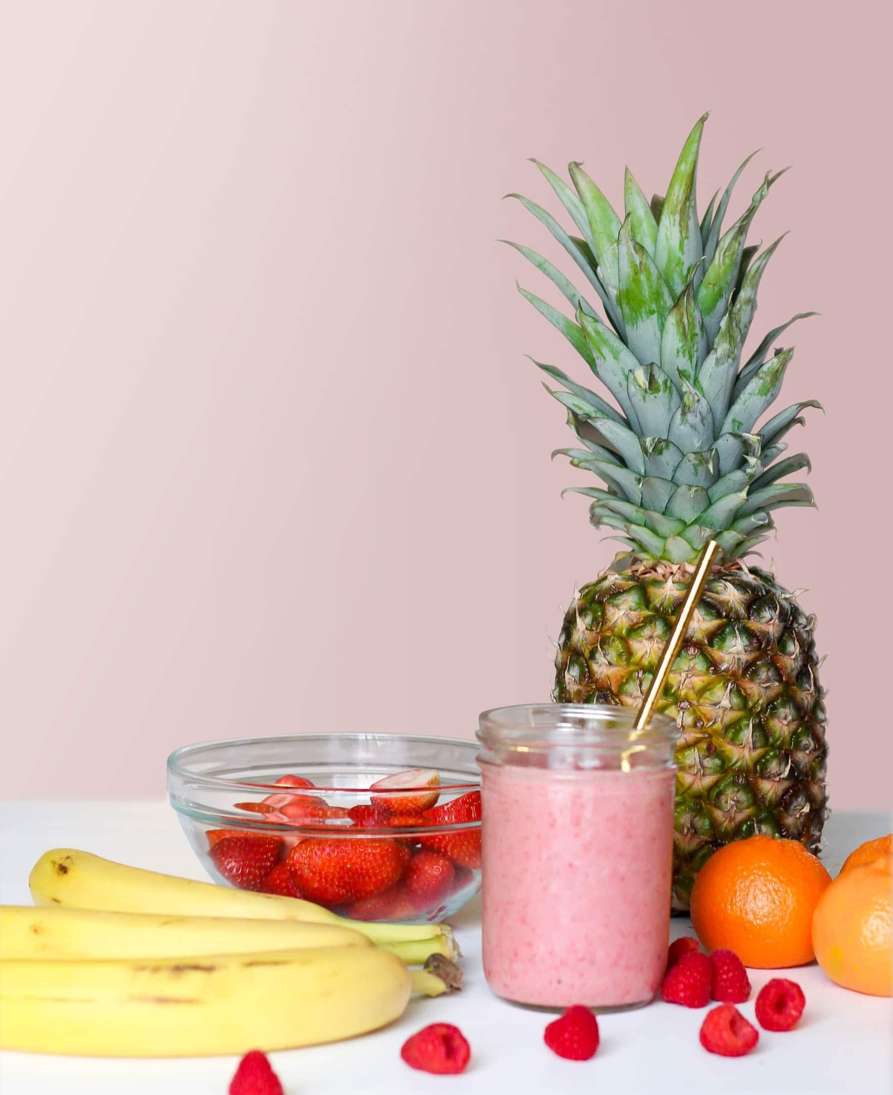 imagen de frutas pinya